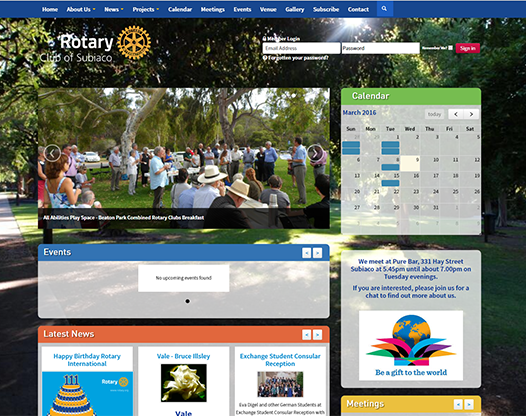 Rotary Club of Subiaco
